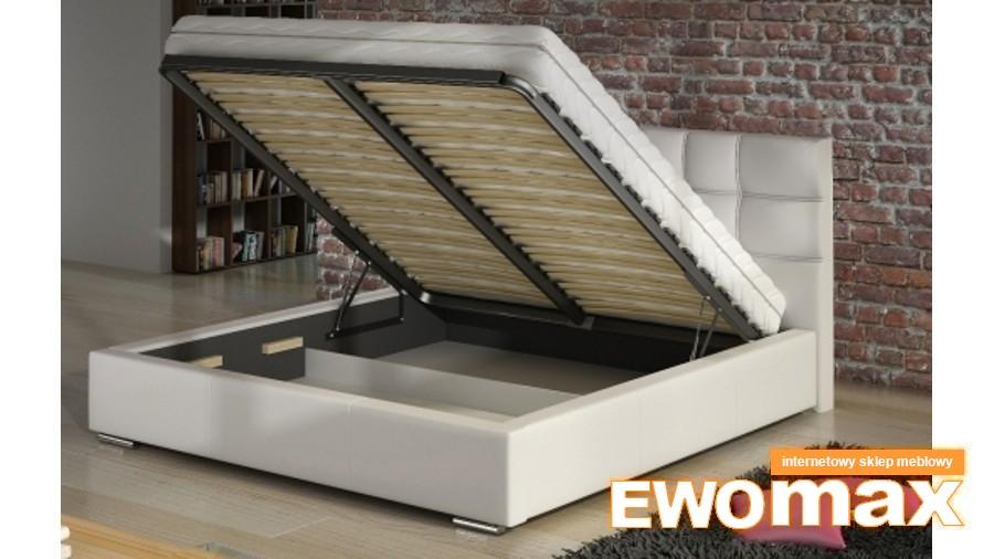 łóżko Basic Z Pojemnikiem 140x200 łóżka Sypialniane